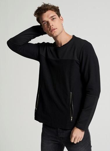 Pi π Oversize Sweatshirt Siyah